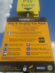 Parking Eye PCN