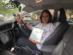 Anita with her new award | PCO Driver