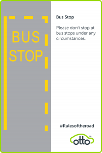Bus Stop Rules For PCO Cara