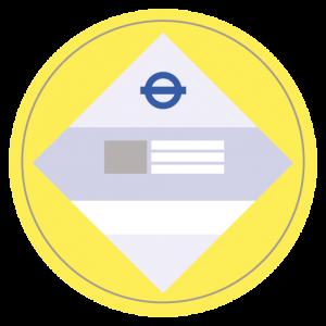 PHV Licence Badge