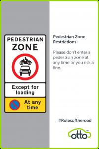 Pedestrian Zone PCO Cars