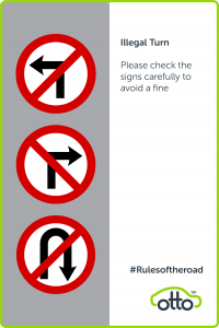 illegal Turn