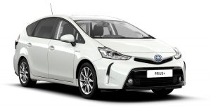 Toyota Prius Plus PCO Rental Car