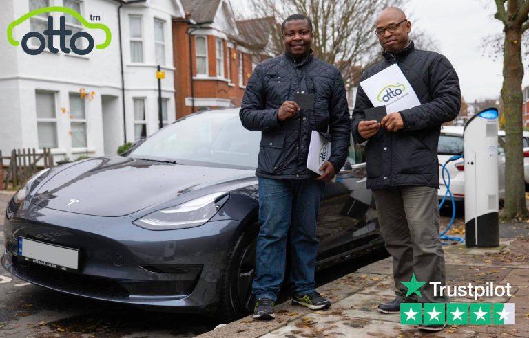 Tesla PCO Car