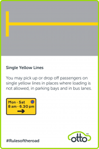 Single Yellow Lines