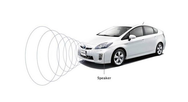 PCO Electric and PCO Hybrid Cars Artificial Sound