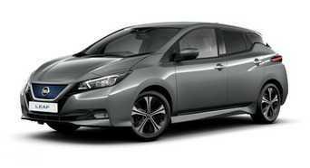 Nissan Leaf Uber Car