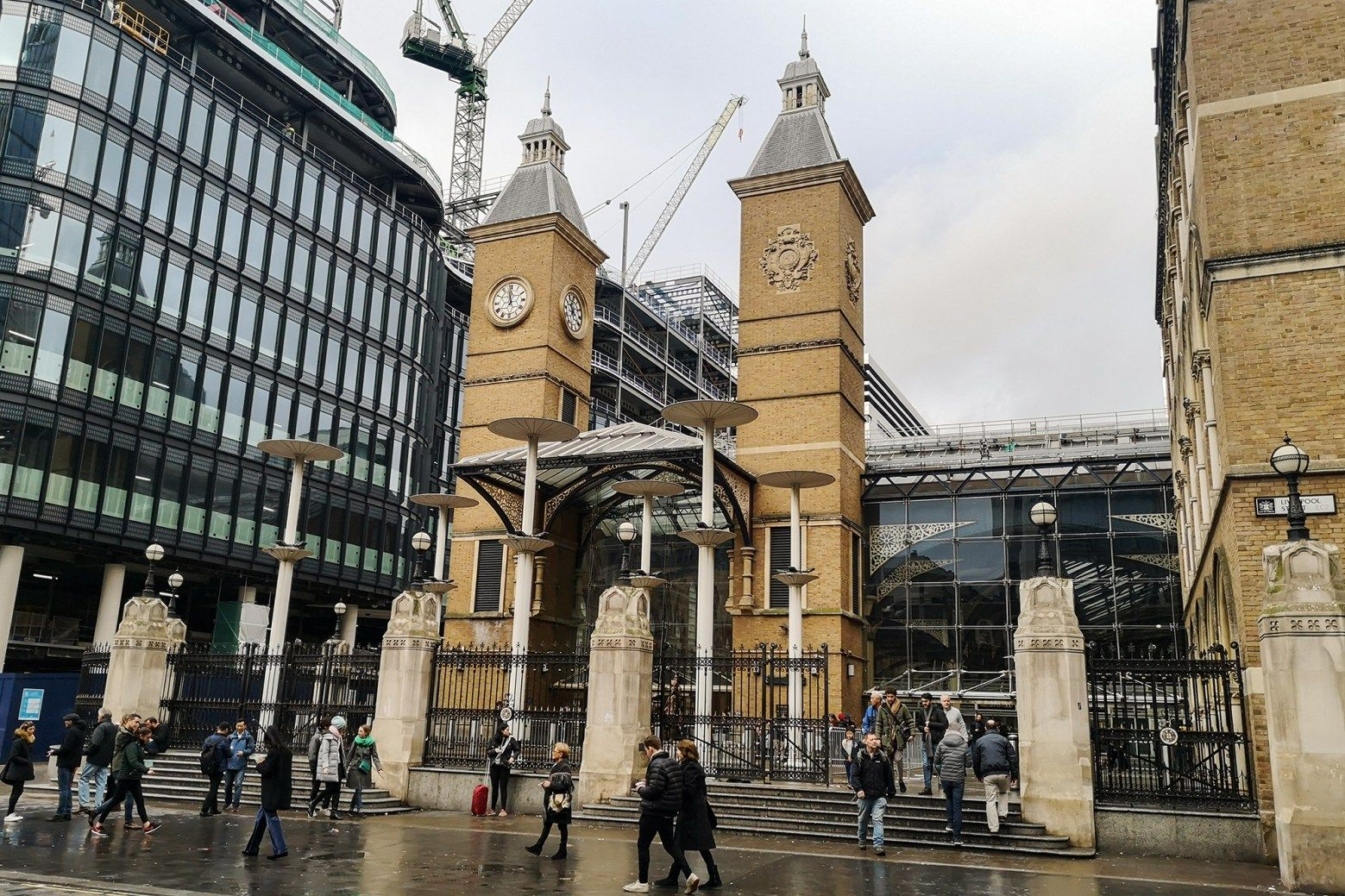 Liverpool street station | Uber destinations for Uber Drivers
