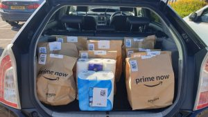 Delivering for Amazon Prime