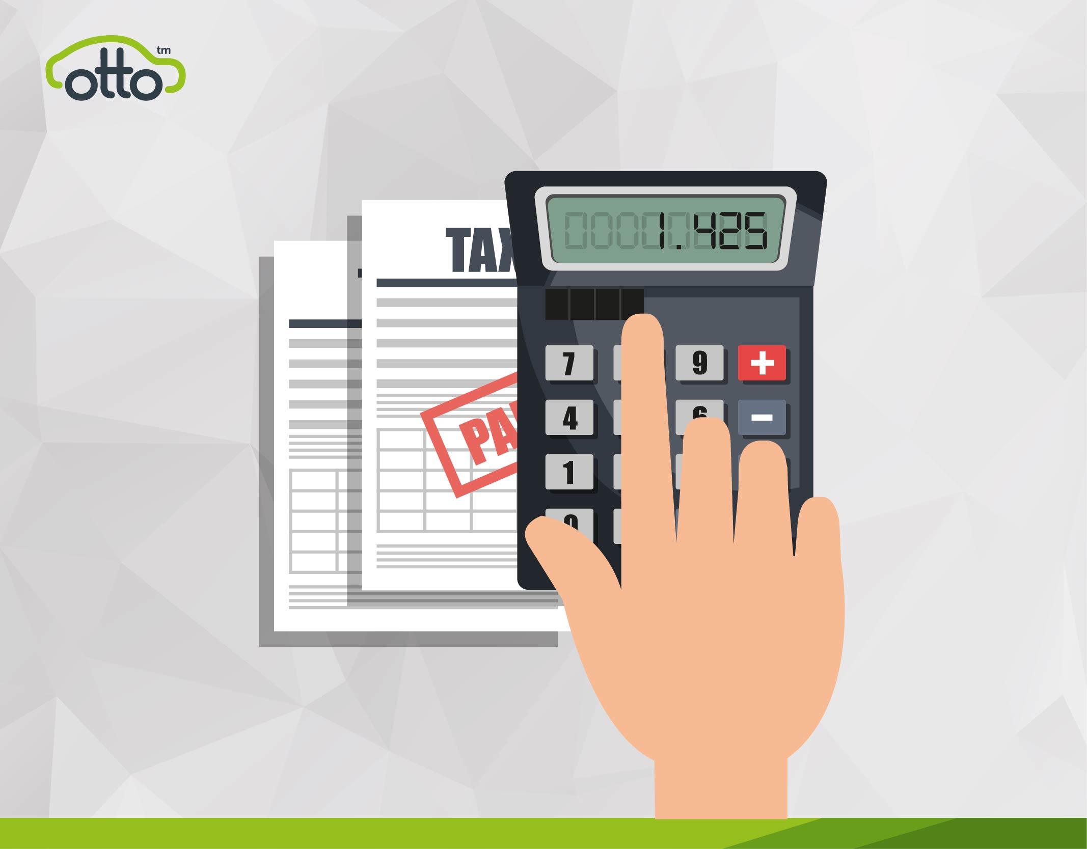 PCO Driver Tax Return