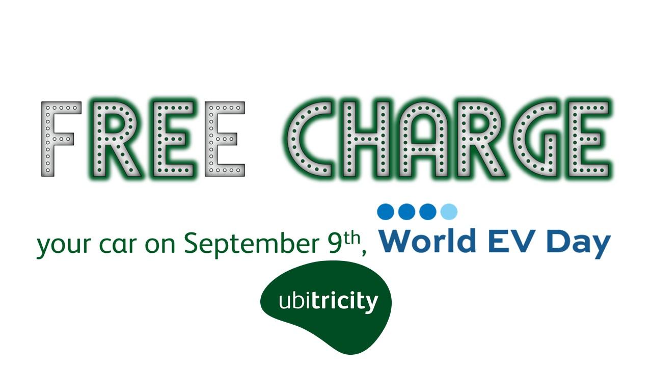 Ubitricity Free Charge World EV Day