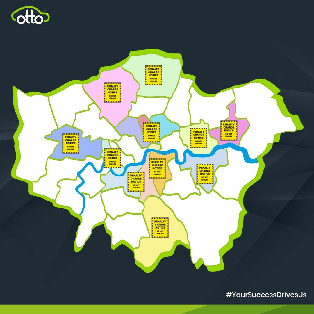 Uber Hotspots London Councils