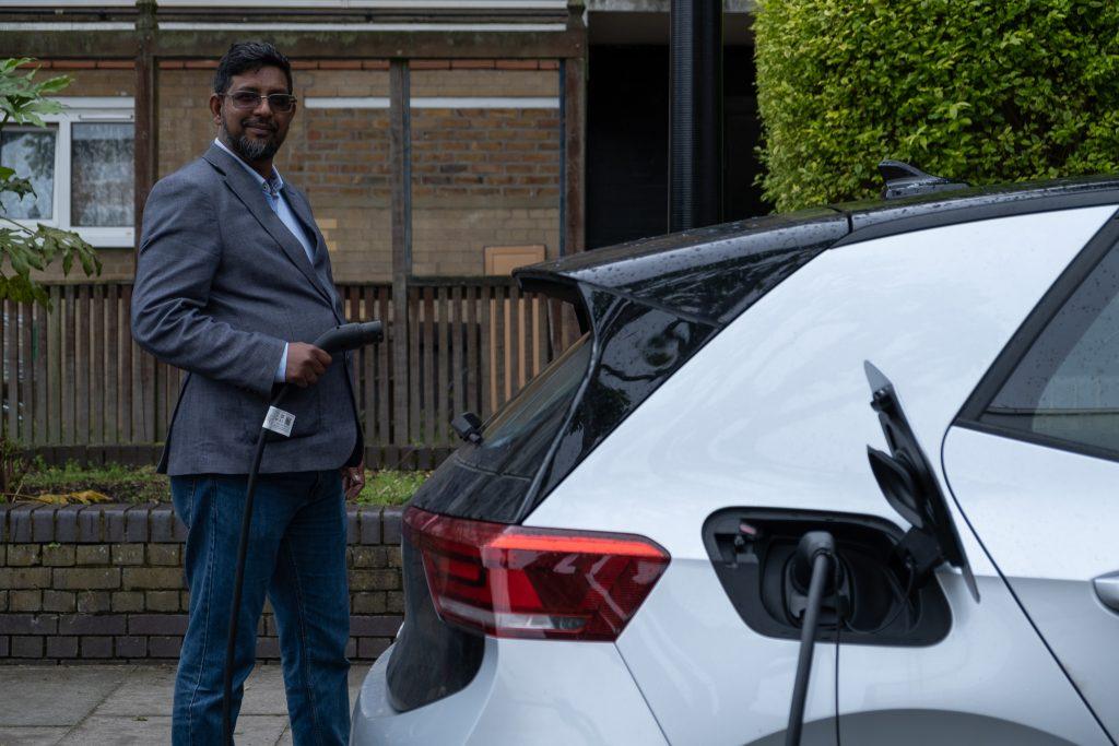 VW Electric Uber Car